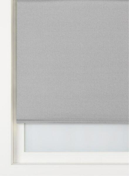 rolgordijn uni transparant lichtgrijs uni transparant - 7410642 - HEMA
