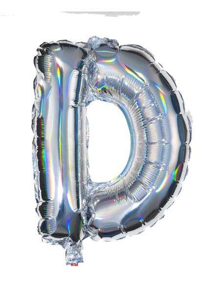 folieballon D - zilver D zilver - 60800435 - HEMA