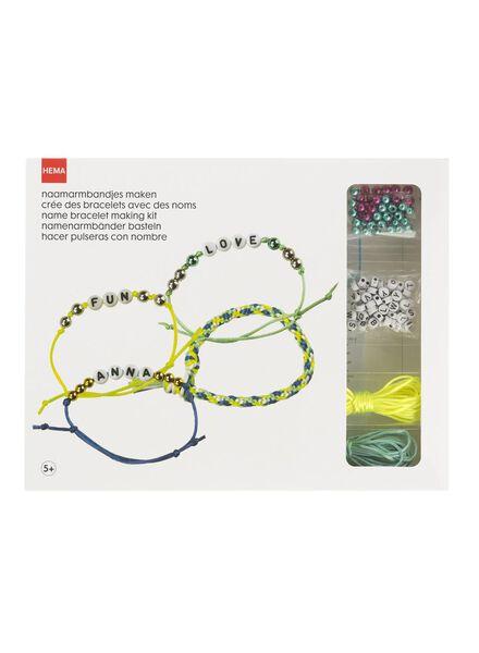 naamarmbandjes maken - 15990116 - HEMA