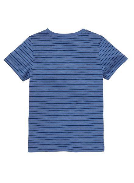 kinder t-shirt middenblauw middenblauw - 1000012716 - HEMA
