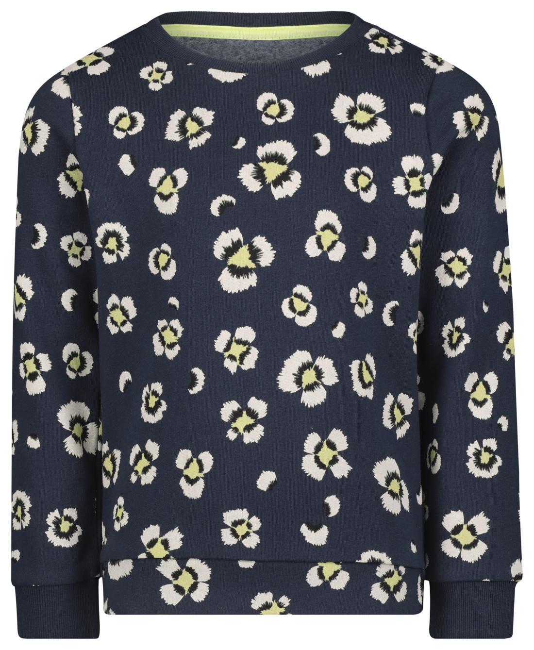HEMA Kindersweater Donkerblauw (donkerblauw)
