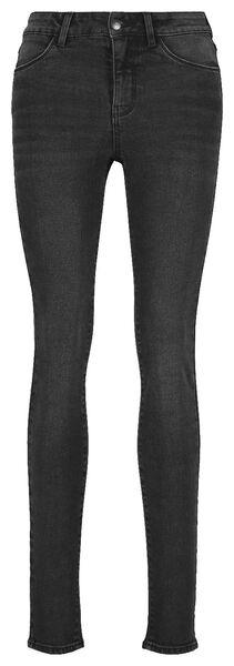 dames jeans -  skinny fit middengrijs 40 - 36307553 - HEMA