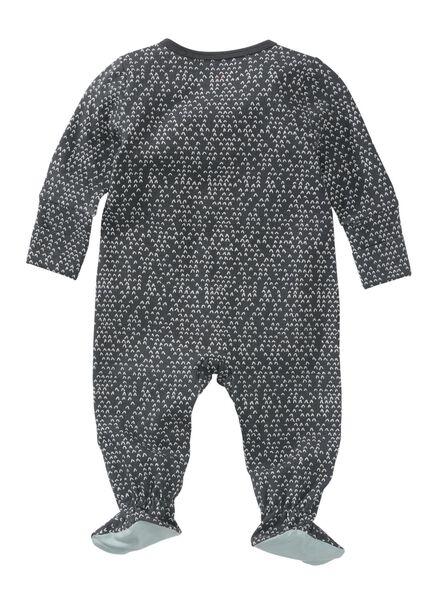 baby jumpsuit donkergrijs donkergrijs - 1000008850 - HEMA