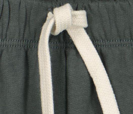 baby sweatbroek groen 92 - 33198238 - HEMA