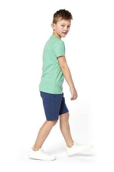 kinder t-shirt groen 158/164 - 30769726 - HEMA