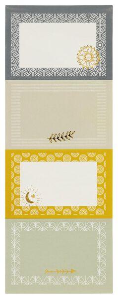 etiketten printjes - 20 stuks - 14590359 - HEMA