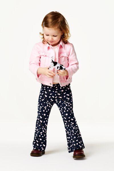 kinder spijkerjas denim roze 98/104 - 30890475 - HEMA