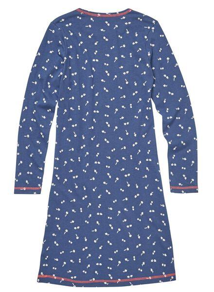 2-pak kindernachthemden blauw blauw - 1000009954 - HEMA