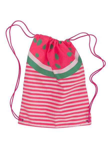 zwemrugzak watermeloen 40 x 32 cm - 18470202 - HEMA