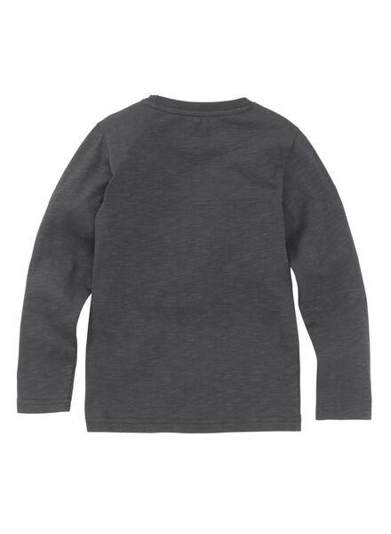 kinder t-shirt antraciet antraciet - 1000009138 - HEMA
