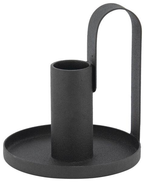 kandelaar - Ø 8.5 - zwart - 13321016 - HEMA