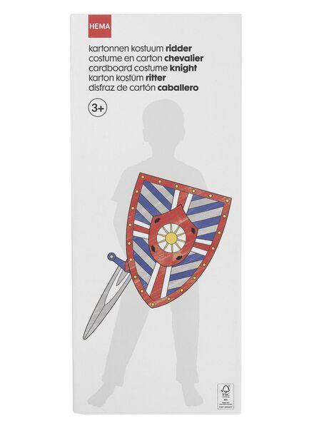 kartonnen ridder kostuum - 15920148 - HEMA