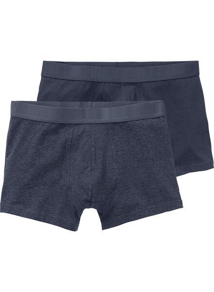 2-pak RLC short boxer middenblauw middenblauw - 1000001046 - HEMA