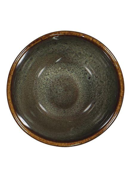 kom - 6 cm - Porto - reactief glazuur - taupe - 9602055 - HEMA