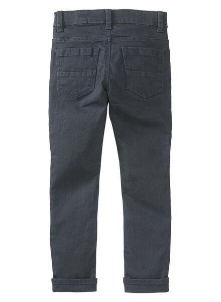 kinderbroek skinny grijs grijs - 1000008335 - HEMA