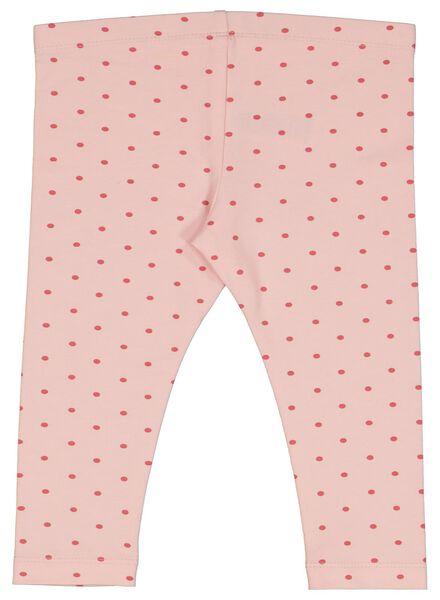 babylegging stip roze roze - 1000014353 - HEMA