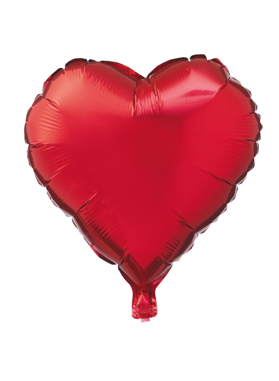 HEMA Folieballon Hart 16 Cm (rood)
