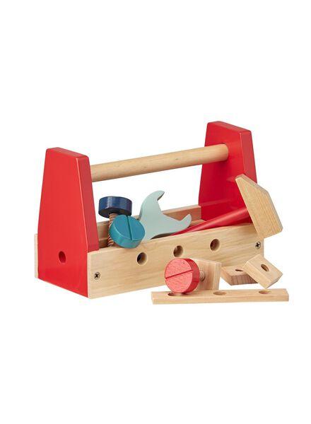 houten gereedschapskist - 15122220 - HEMA