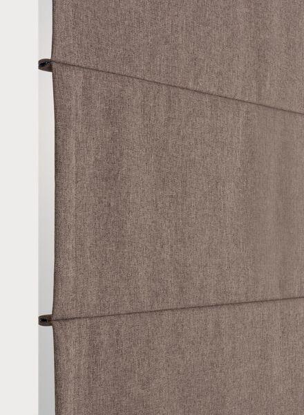 vouwgordijn enschede bruin enschede - 7406871 - HEMA