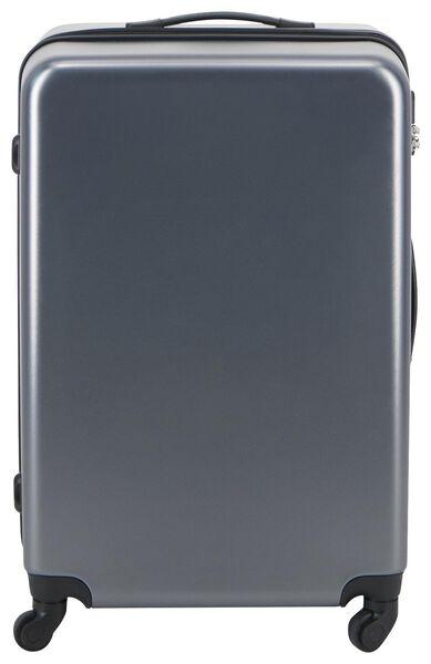 koffer - 77x52x28 - recycled PET - grijs - 18630202 - HEMA