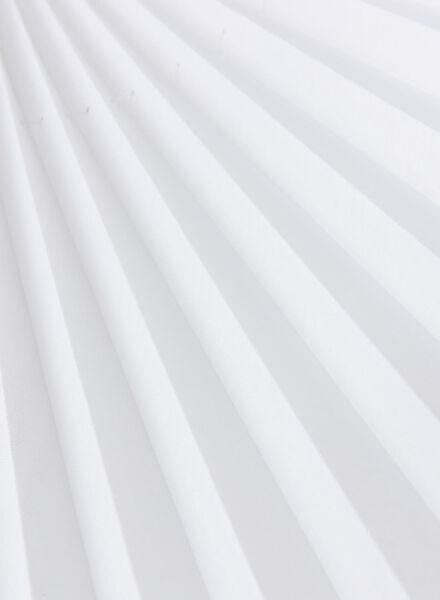plisségordijn transparant 20 mm - 7430026 - HEMA