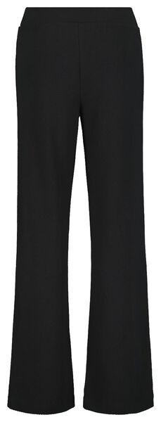 damesbroek zwart zwart - 1000020614 - HEMA