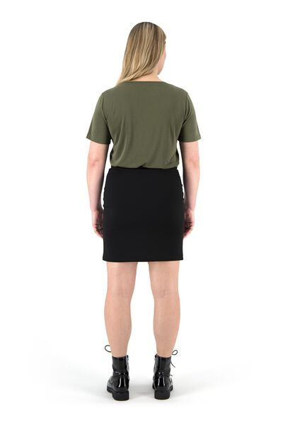 dames t-shirt olijf olijf - 1000019403 - HEMA