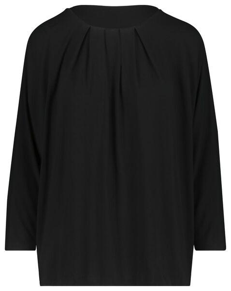 dames top zwart zwart - 1000019477 - HEMA