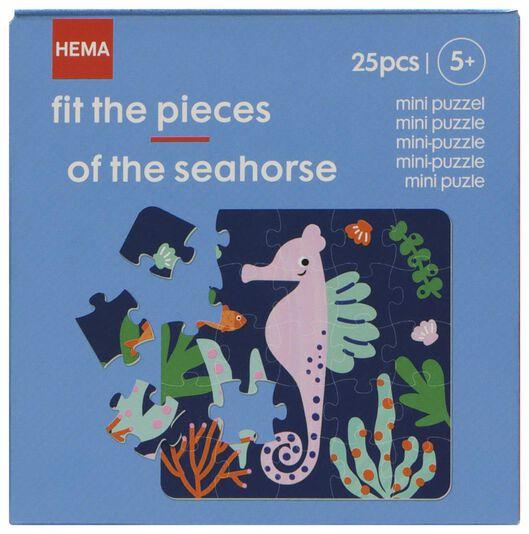 mini puzzel zeepaardje - 15180045 - HEMA