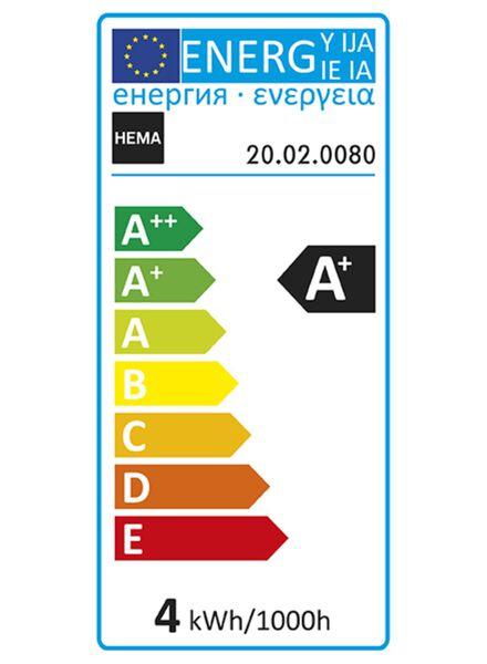 LED lamp 3,5W - 200 lm - kogel - goud - 20020080 - HEMA
