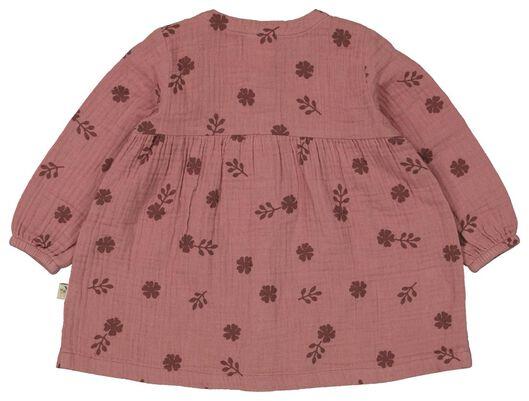 babyjurk bloemen roze roze - 1000024443 - HEMA