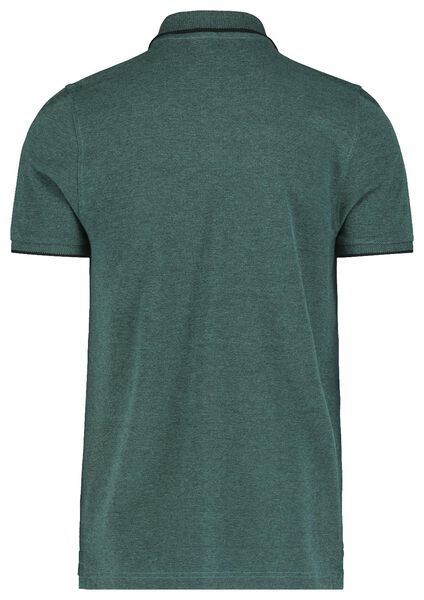 herenpolo groen groen - 1000018191 - HEMA