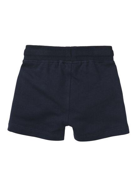 baby sweatbroek donkerblauw donkerblauw - 1000010927 - HEMA