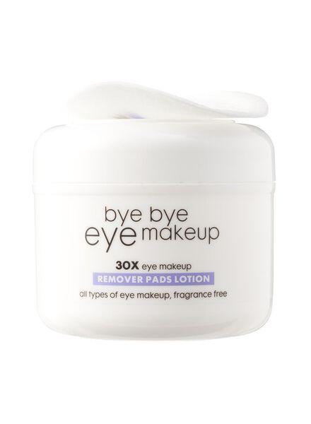 oog make-up reinigings lotion pads - 17830004 - HEMA