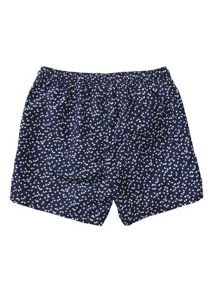 heren zwemshort donkerblauw donkerblauw - 1000011594 - HEMA