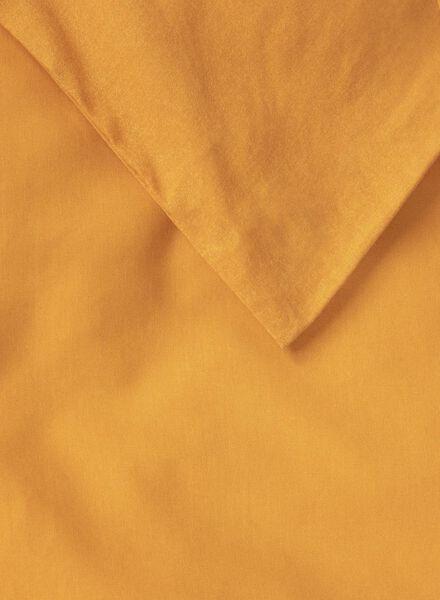 dekbedovertrek - zacht katoen - uni okergeel okergeel - 1000017570 - HEMA