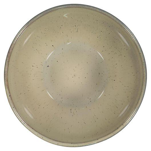 schaal - 14 cm - Porto - reactief glazuur - sand - 9602038 - HEMA