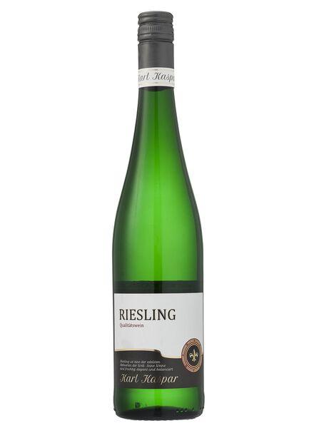 karl kaspar riesling - wit - 17371102 - HEMA