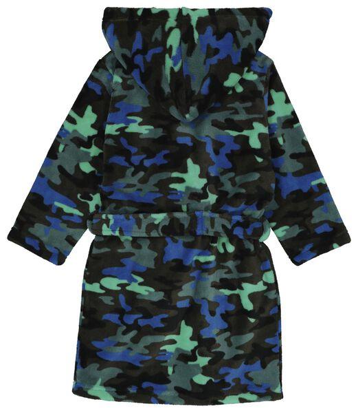 kinderbadjas camouflage groen 134/140 - 23050140 - HEMA
