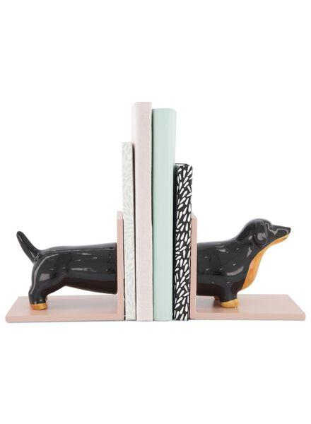 boekenstandaard - teckel - 2 stuks - 60100479 - HEMA