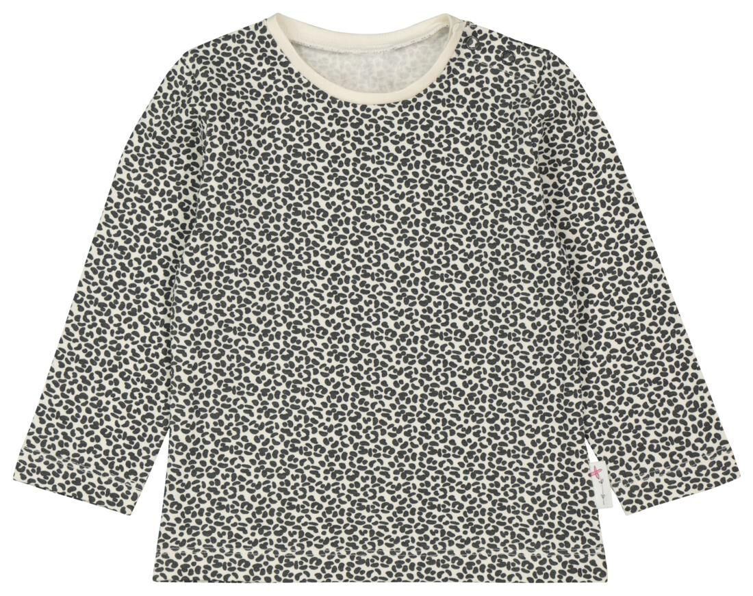HEMA Baby T-shirt Animal Gebroken Wit (gebroken wit)