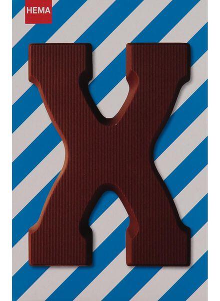melkchocolade letter X - 10033052 - HEMA