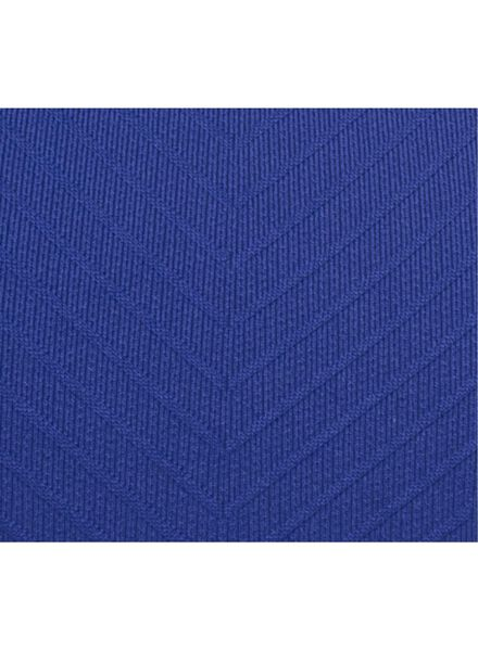 dames sporttop naadloos blauw blauw - 1000002463 - HEMA