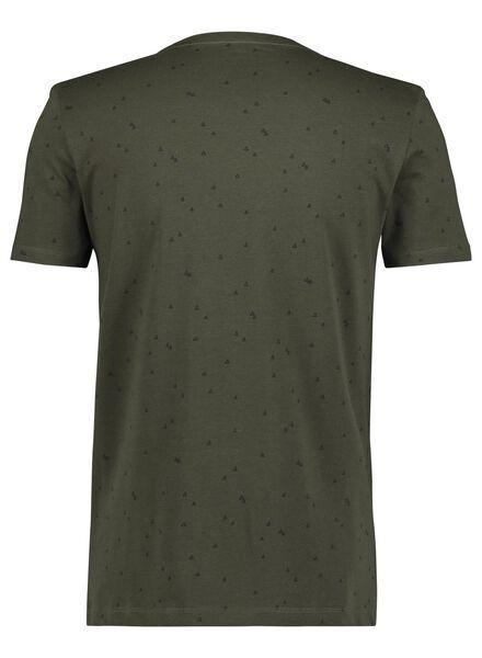 heren t-shirt groen groen - 1000014688 - HEMA