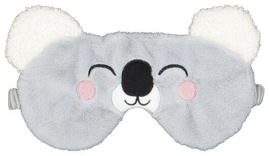 slaapmasker fluffy koala - 61120168 - HEMA
