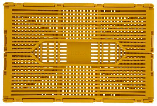 Klapkratje letterbord recycled 20x30x11.5 geel
