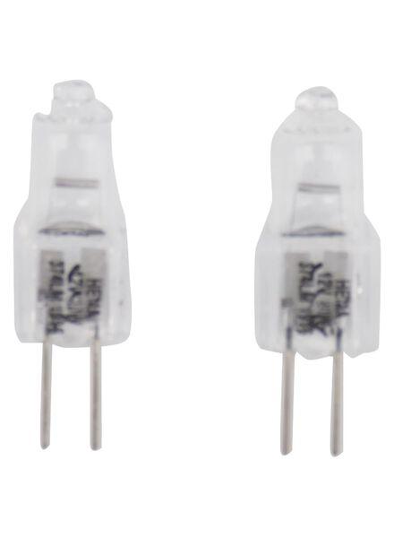 halogeen 15W - 145 lumen - steeklamp - helder - 2 stuks - 20022011 - HEMA