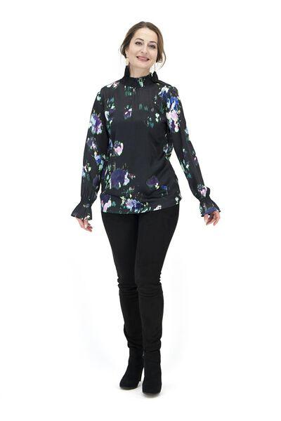 dames top zwart zwart - 1000017547 - HEMA