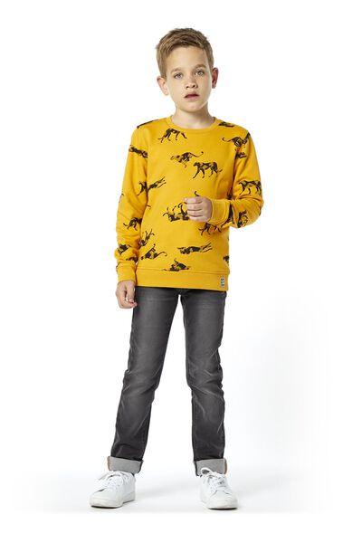 kindersweater geel geel - 1000020207 - HEMA