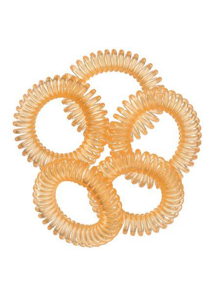 5-pak spiraal elastiekjes - 11870027 - HEMA